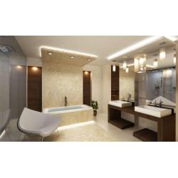 Идеальное освещение в ванной