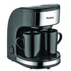 """Кофеварка 450 Вт 2 чашки в комплекте """"MAGIO"""" МG-348"""