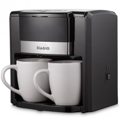 """Кофеварка капельная 500Вт, 0,3 л, 2 чашки в комплекте """"MAGIO"""" MG-450"""