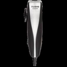 """Машинка для стрижки волос 15Вт 4 насадки керамика, нержавеющая сталь """"MAGIO"""" МG-595"""