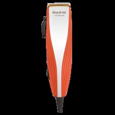 """Машинка для стрижки волос 15Вт 4 насадки титановое покрытие лезвия """"MAGIO"""" МG-596"""