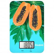 """Весы кухонные 5 кг электронные стекло """"MAGIO"""" MG-790"""