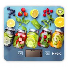 """Весы кухонные 5 кг электронные стекло """"MAGIO"""" MG-796"""