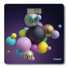"Весы электронные 180кг ж/к дисплей стекло ""MAGIO"" MG-298"
