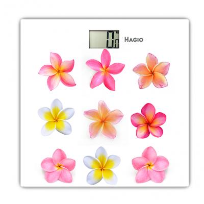 "Весы электронные 150кг ж/к дисплей стекло ""MAGIO"" MG-818"