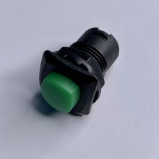 "Кнопка LSW12 квадрат зелёная с фикс ON-OFF ""LEMANSO"" DS-226"