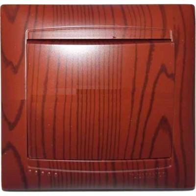"""Выключатель 1-кл. внутренний вишня """"LEMANSO Сакура"""" LMR1501"""