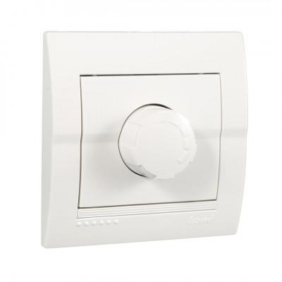 Диммер 500 Вт внутренний с фильтром белый LEZARD Deriy 702-0202-116