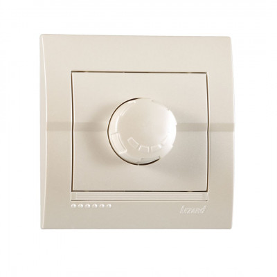 Диммер 800 Вт внутренний жемчужно-белый металлик LEZARD Deriy 702-3030-115