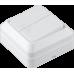 """Выключатель 2-кл. наружный белый """"LIDER Legend"""" LVO10-780"""