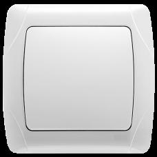 """Выключатель 1-кл. внутренний белый """"Q-MAX Стандарт"""" 501"""