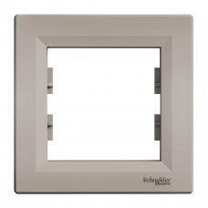 "Рамка 1-я горизонтальная бронза ""SCHNEIDER Asfora"" EPH5800169"