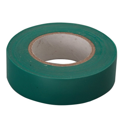 """Изолента e.tape.stand.20.green зеленая (20м.) """"E.NEXT"""" s022013"""