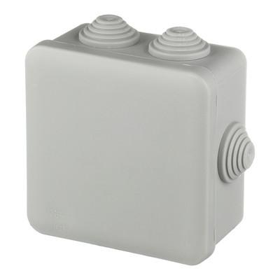 Коробка распределительная герметичная 130х130х80 IP55 наружная  №19
