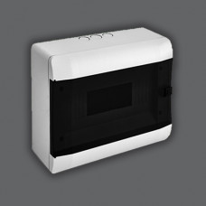 """Бокс под 9-12 автоматов  накладной ABS LED индикатор """"LEMANSO"""" LMA119"""
