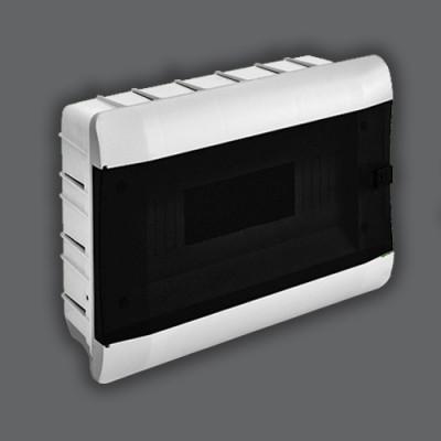 """Бокс под 9-12 автоматов  внутренний ABS LED индикатор """"LEMANSO"""" LMA120"""