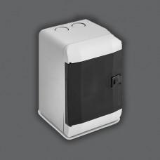 "Бокс под 2-4 автомата накладной ABS LED индикатор ""LEMANSO"" LMA115"