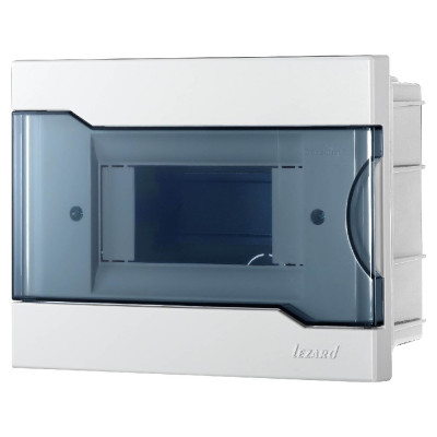 Бокс под автоматы внутренней установки - 6 модульный LEZARD 730-1000-006