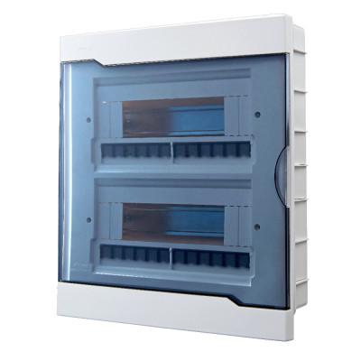 Бокс под автоматы внутренней установки - 24 модульный LEZARD 730-1000-024