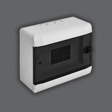 """Бокс под 5-8 автоматов накладной ABS LED индикатор """"LEMANSO"""" LMA117"""