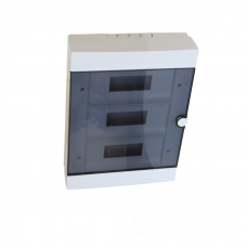 """Бокс пластиковый модульный 36 автоматов накладной """"Electro House"""" EH-BM-010"""