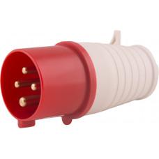 """Силовая вилка переносная e.plug.pro.4.32, 4п., 380В, 32А (024) """"E.NEXT"""" p011005"""