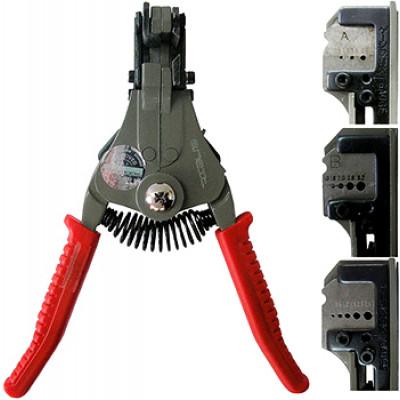 """Инструмент e.tool.strip.700.a.0,5.2 для снятия изоляции проводов сечением 0,5-2 кв.мм """"E.NEXT"""" t004001"""
