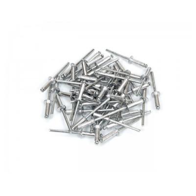"""Заклепка алюминиевая 4* 6мм """"POLAX"""" 37-007"""