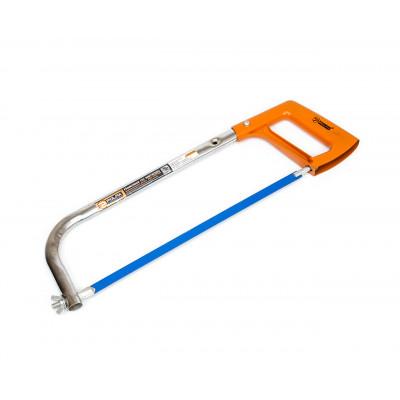"Ножовка по металлу 250-300мм, алюминиевая ручка""POLAX""33-001"