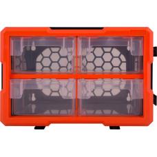 """Органайзер наборной e.toolbox.20, 4-секционный """"E.NEXT"""" t010020"""