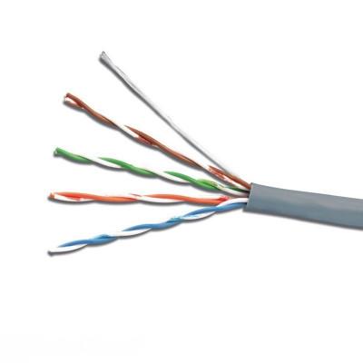 """Интернет кабель FTP 4х2х0,51 CCA ПВХ серый """"Electro House"""" EH.LAN-22"""