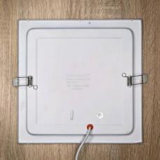 """LED панель MINI 18W 4200K SQ квадрат """"Q-MAX"""" 413"""