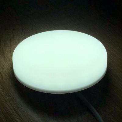 "LED панель 10W 900LM 6500K 85-265V IP20  ""Стелс"" круг ""LEMANSO""  LM1075"