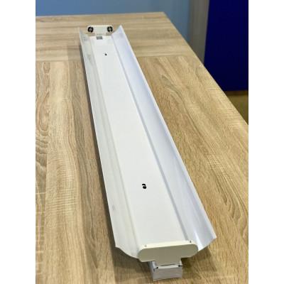 """Металлическая лыжа для LED ламп 2х18W T8 1200mm """"LEMANSO"""" LM996"""