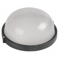 "Светильник LED 12W круг черный 170-265V 960LM IP65 ""LEMANSO"" LM974"