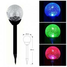 "Светильник LED газон без выкл., 1LED RGB IP44 6мес. пластмасса ""LEMANSO"" CAB118"
