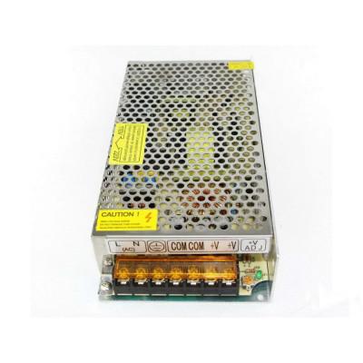 "Блок питания для светодиодной ленты металл 150W 12V IP20 199x98x42mm ""LEMANSO"" LM822"