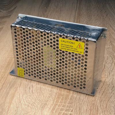 "Блок питания для светодиодной ленты металл 200W 12V 160*100*50mm ""LEMANSO"" LM803"