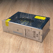 "Блок питания металл для светодиодной ленты 150W 12V IP20 165x99x44mm ""LEMANSO"" LM825"