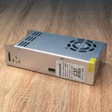"""Блок питания металл для LED ленты 360W 12V 30A 200*98*50mm """"LEMANSO"""" LM836"""