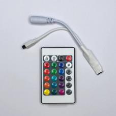 """Контроллер для LED ленты RGB с пультом 12V 72W (24 ключи) MINI """"LEMANSO"""" LM9504"""
