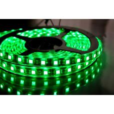 """Светодиодная лента SMD 3528 - 120 LED IP20 4-5Lm/led 9.6W 12V зеленый """"BIOM"""" (5м.)"""