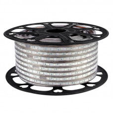 """Светодиодная лента силикон SMD 5050 - 60 LED IP67 14,4W 220V RGB """"BIOM"""" (100м.)"""