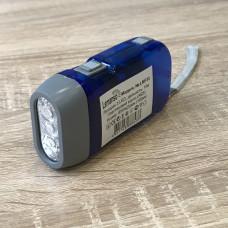 "Фонарик 3 LED голубой ""LEMANSO"" LMF33"