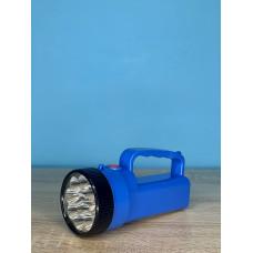 Фонарик ручной 12LED/9LED ( синий ) батарейки R6 ULTRA SVET LP-206