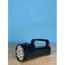 Фонарик ручной 12LED/9LED ( черный ) батарейки R6 ULTRA SVET LP-206