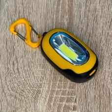 "Фонарик - брелок COB 1W желто-черный ""LEMANSO"" LMF54"