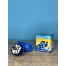 Фонарик налобный 1LED ( синий ) батарейки R6 ULTRA SVET LP-503
