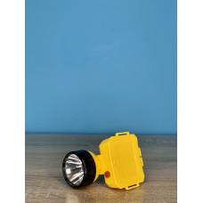 Фонарик налобный 1LED ( желтый ) батарейки R6 ULTRA SVET LP-503