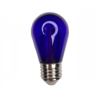 """Лампа светодиодная E27 1W S14 230V фиолетовая """"LEMANSO"""" LM3078"""